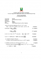 MTH311 Calculus of Several Variables
